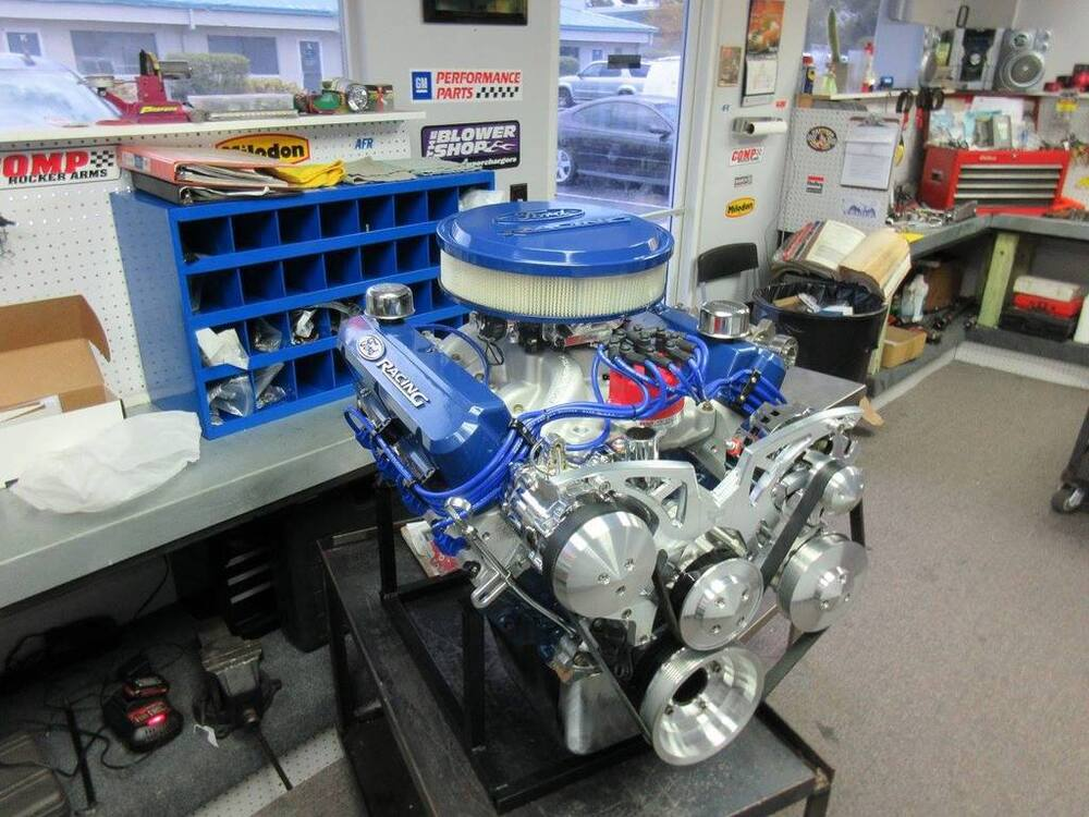 Ford 302 347ci 450hp Stroker Crate Engine Ebay