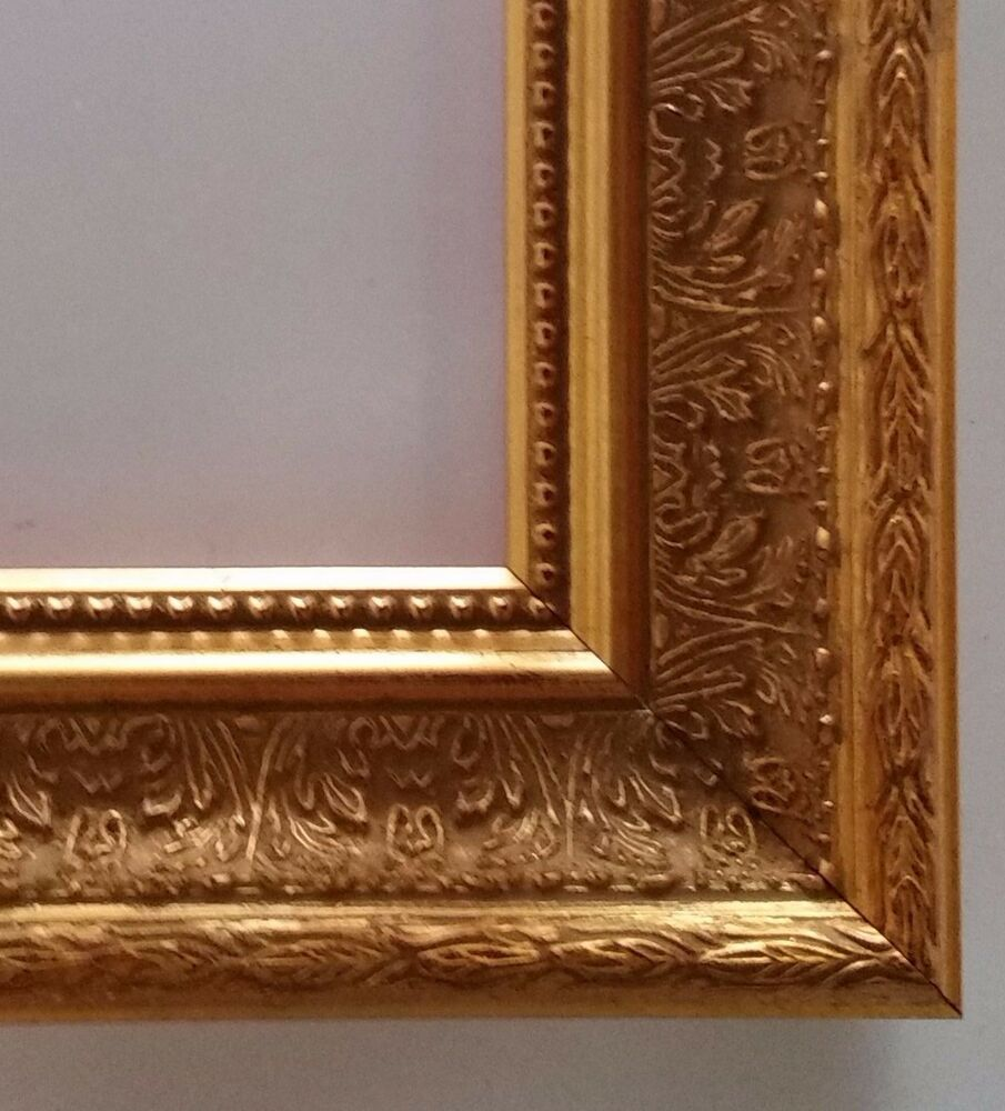 "16"" x 20"" Gold Leaf Ornate Wood Picture Frame for ..."