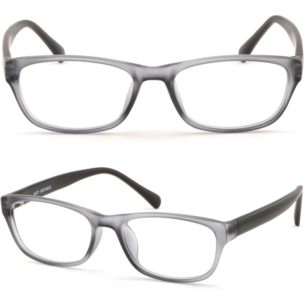 Men Women Plastic Frames Prescription Glasses RX ...