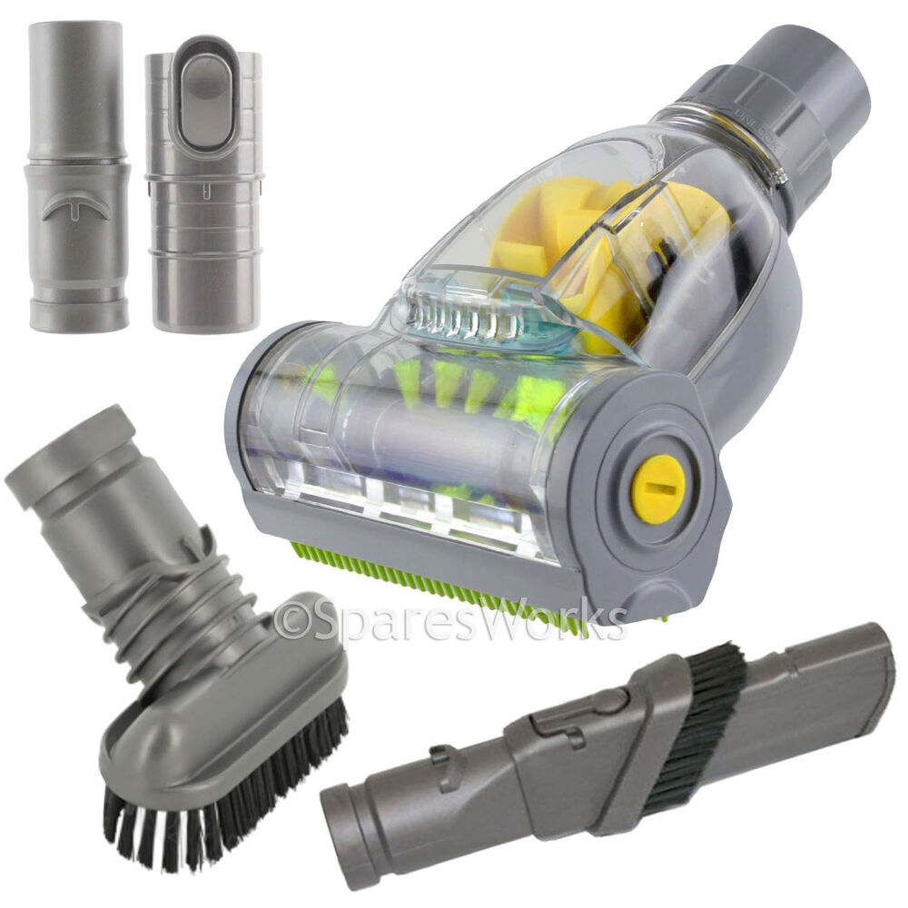 pet vacuum turbo tool cleaning kit for dyson dc17 dc18 dc19 floor crevice brush ebay. Black Bedroom Furniture Sets. Home Design Ideas