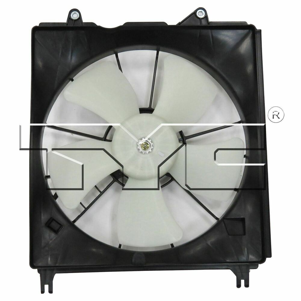 2007 Acura Rdx Cooling Fan Assembly Condenser Side: For 2010-2012 Acura RDX Cooling Fan Left