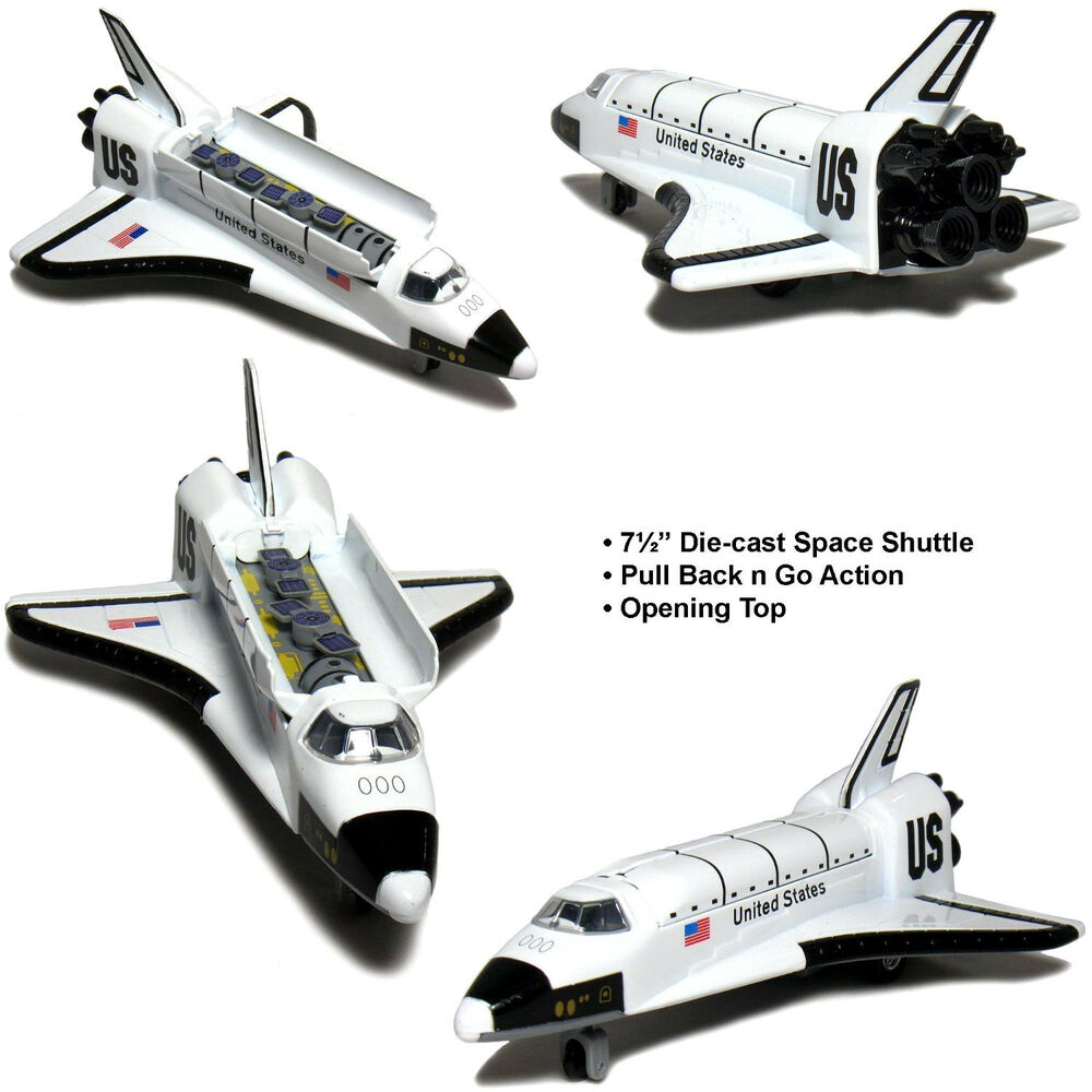"""8"""" Space Shuttle NASA Replica diecast toy model Pull back ..."""