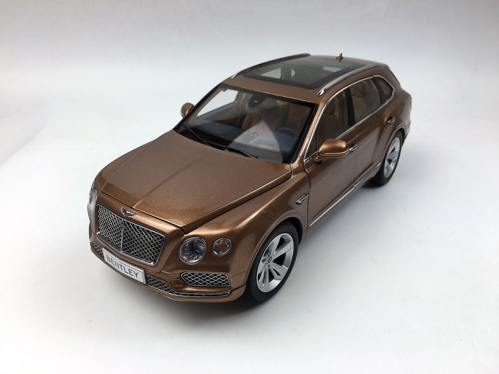 kyosho 1 18 bentley bentayga bright bronze diecast model car ebay. Black Bedroom Furniture Sets. Home Design Ideas