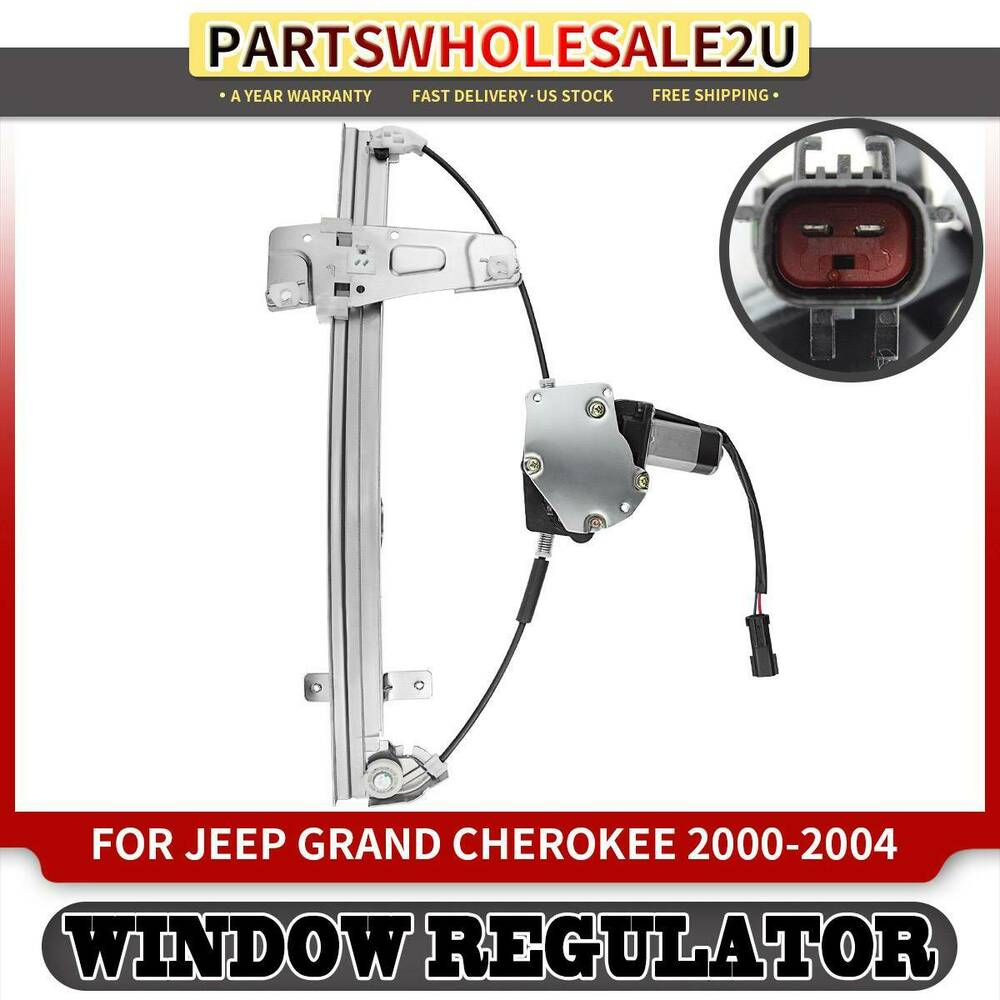 window regulator with motor for jeep grand cherokee wj
