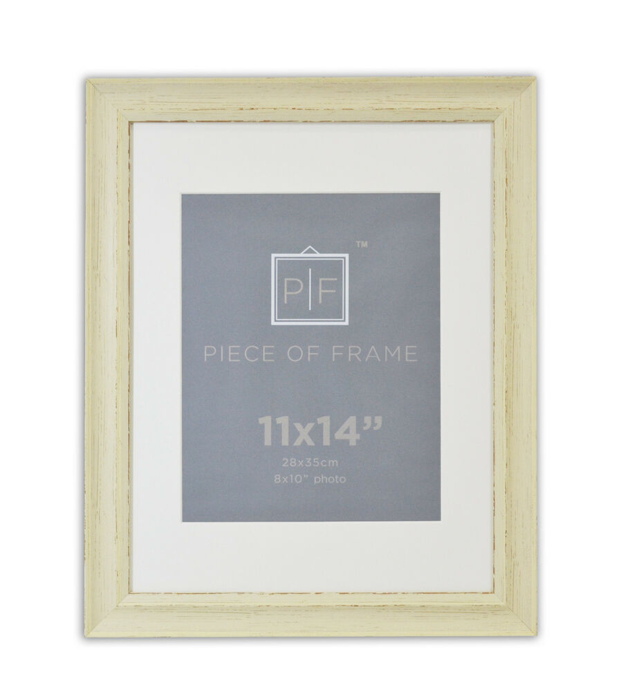 11x14 photo frame cream color shabby chic style with for 11x14 table top frame