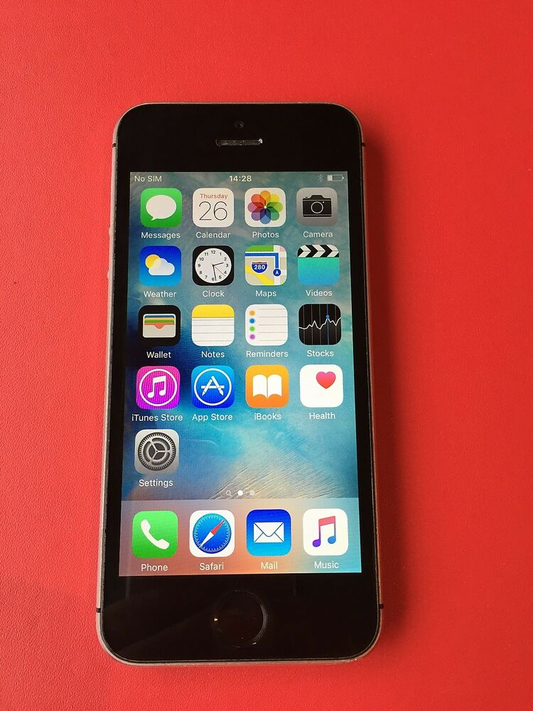 iphone 5 ebay apple iphone 5s 16gb space grey unlocked smartphone 10985