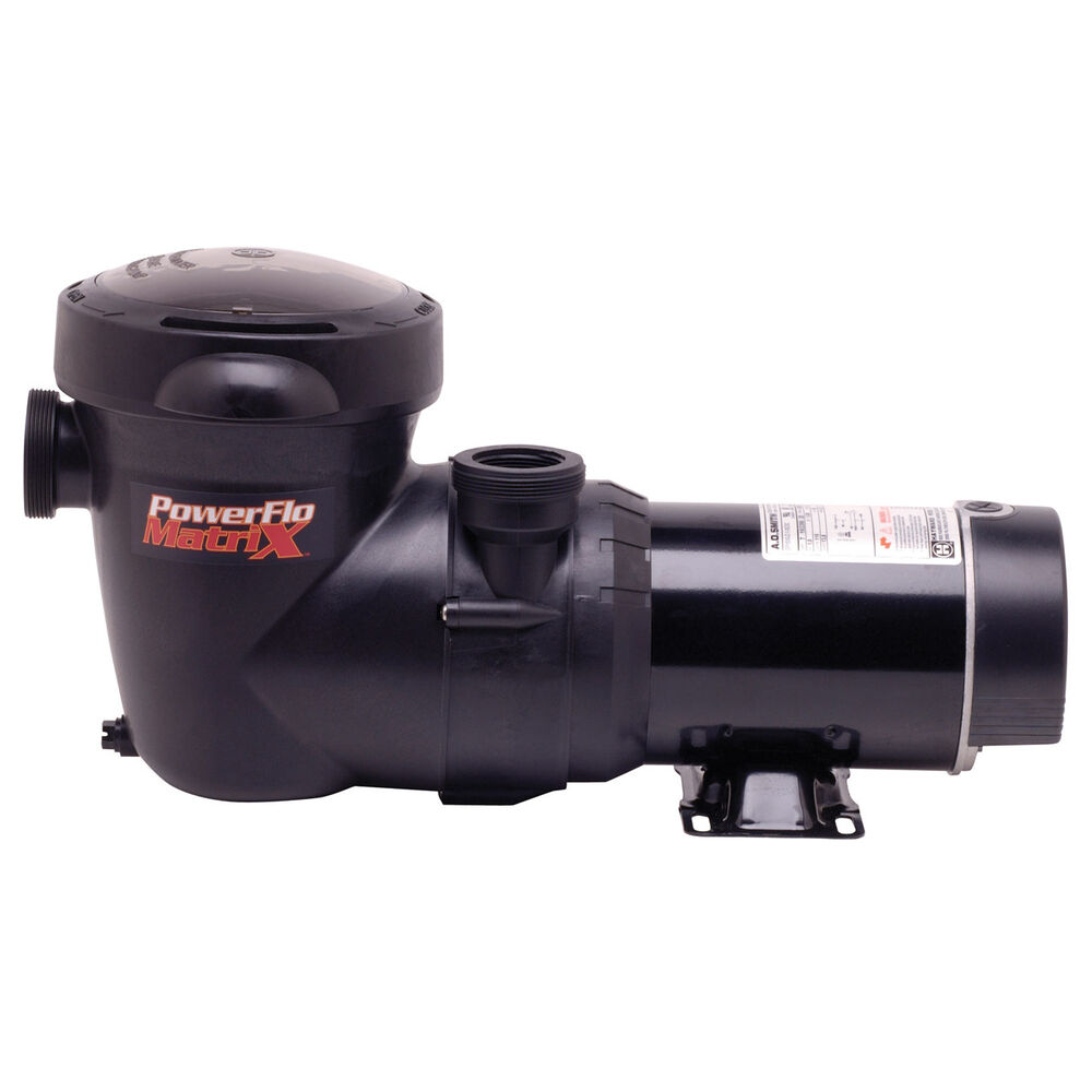 Hayward powerflo matrix pool pumps 2 speed ebay - Hayward swimming pool ...