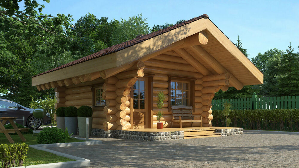 gartenhaus naturstammhaus holzhaus carport sauna grillcotta ebay. Black Bedroom Furniture Sets. Home Design Ideas