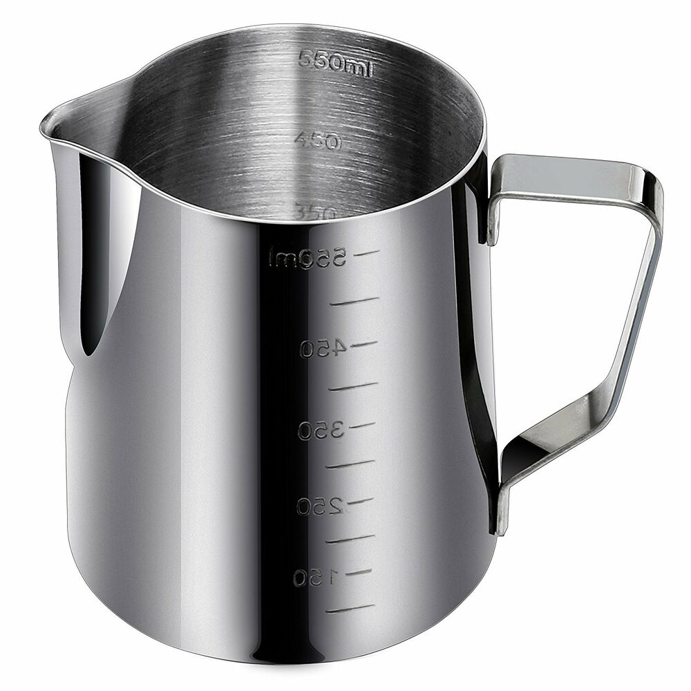 20 Oz Stainless Steel Espresso Milk Frothing Pitcher