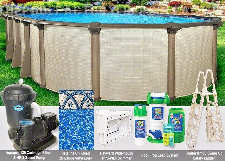 8x12 Oval 54 Quot High Melenia Above Ground Swimming Pool