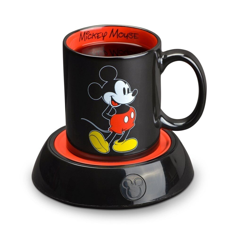 Coffee Mug Warmer Electric Desktop Heater With Mickey