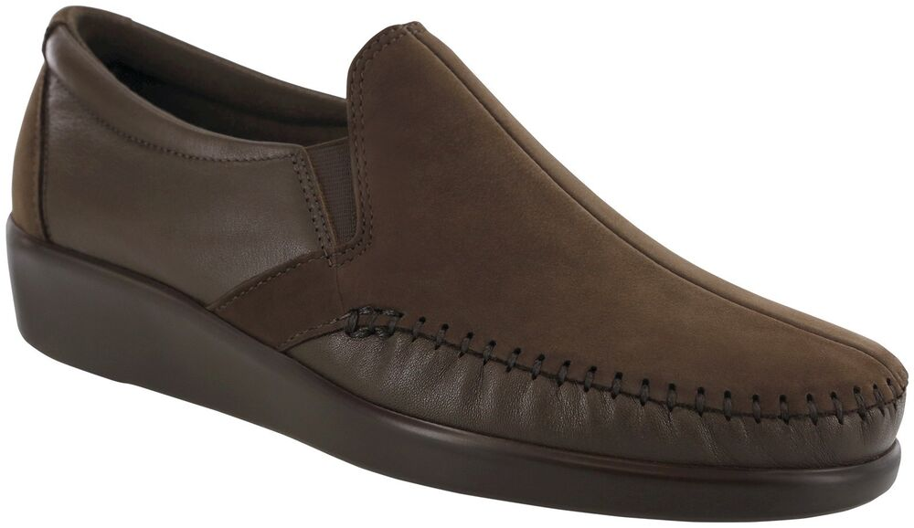 sas s walking comfort slip on shoe arch