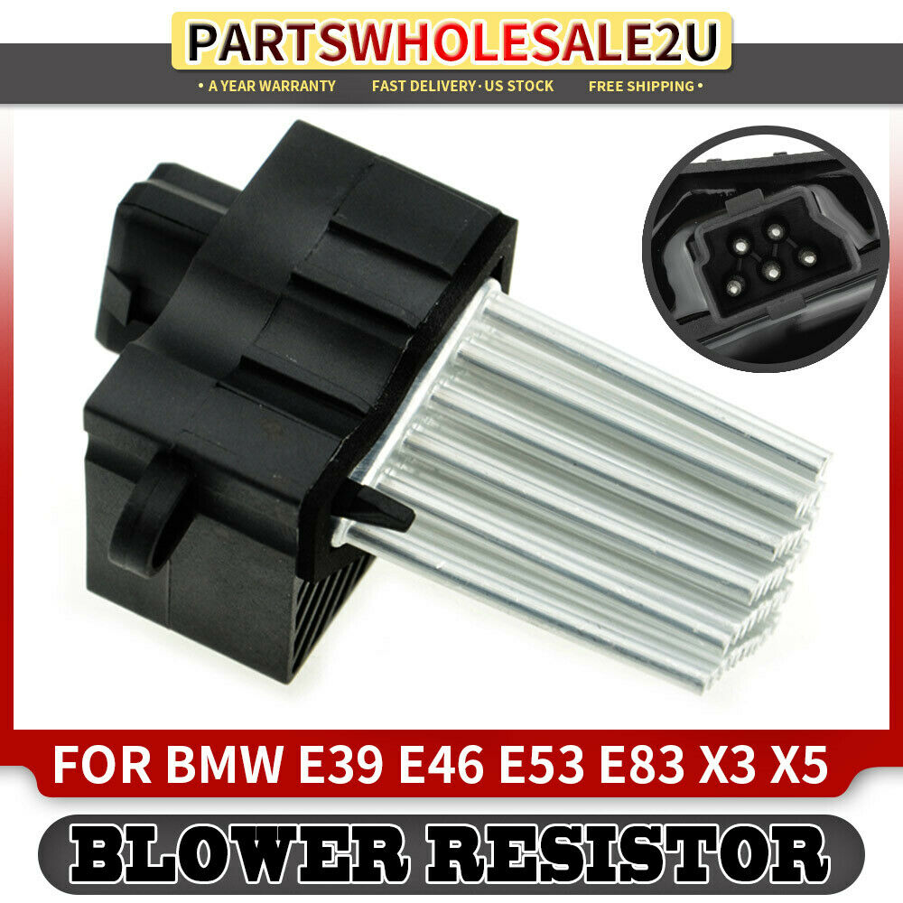Blower Motor Fan Resistor For Bmw E39 E46 E53 E83 X3 X5