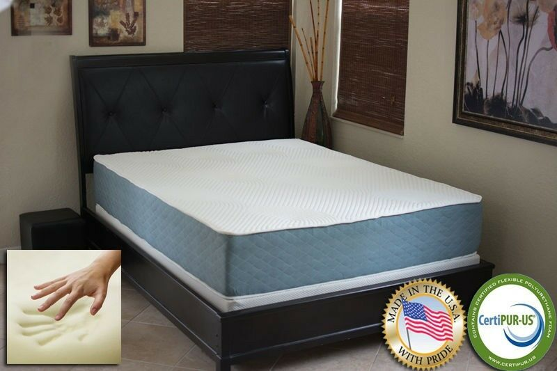 New Casper Williams 12 Cloud Gel Memory Foam Mattress Bed Queen Size Ebay
