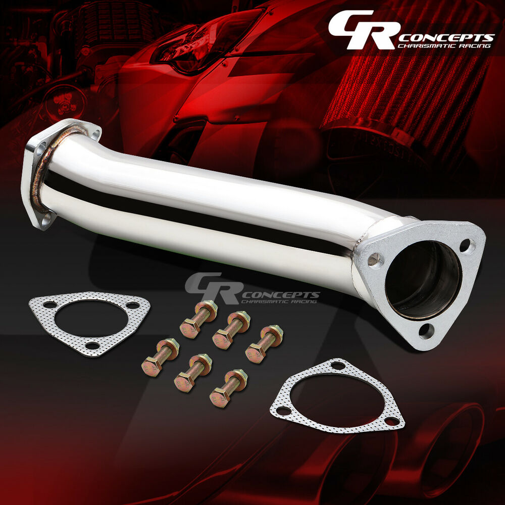 HIGH FLOW DOWNPIPE/EXHAUST CONVERTER PIPING FOR 97-05 AUDI