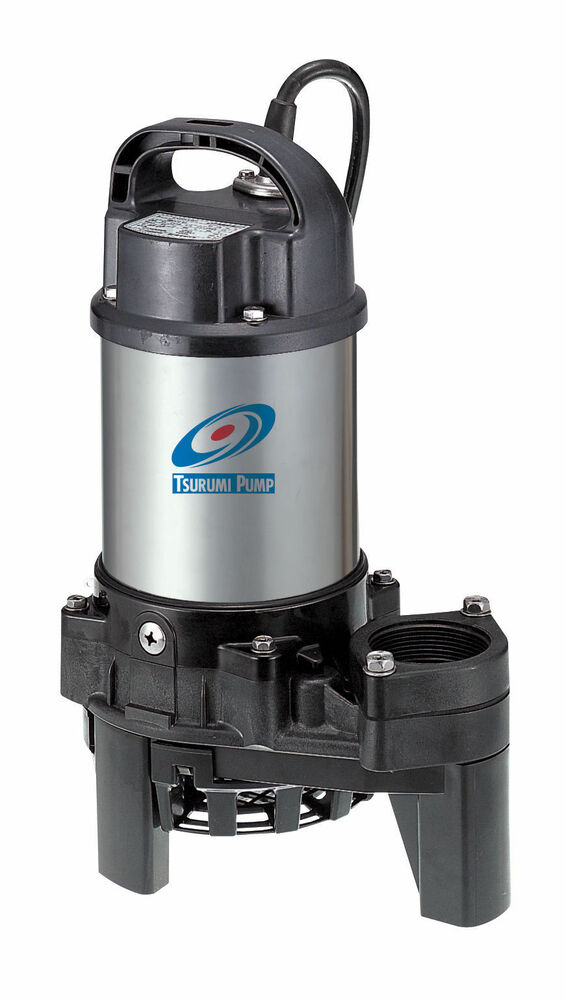 Tsurumi 3pn 1 3 hp submersible pond pump ebay for Submersible pond pumps