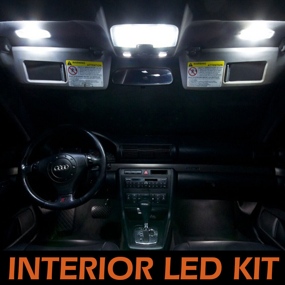 8pcs Interior Led Light Package Kit Super White For Dodge Ram 1500 2009 2013 Ebay
