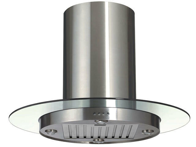 Exhaust Hood Filters ~ New quot stainless steel island range hood with baffle