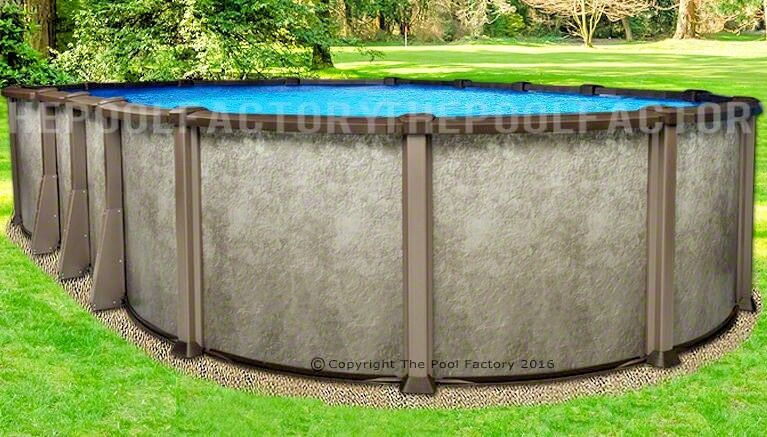 18x33 Oval 54 Saltwater Lx Above Ground Salt Swimming Pool With 25 Gauge Liner Ebay