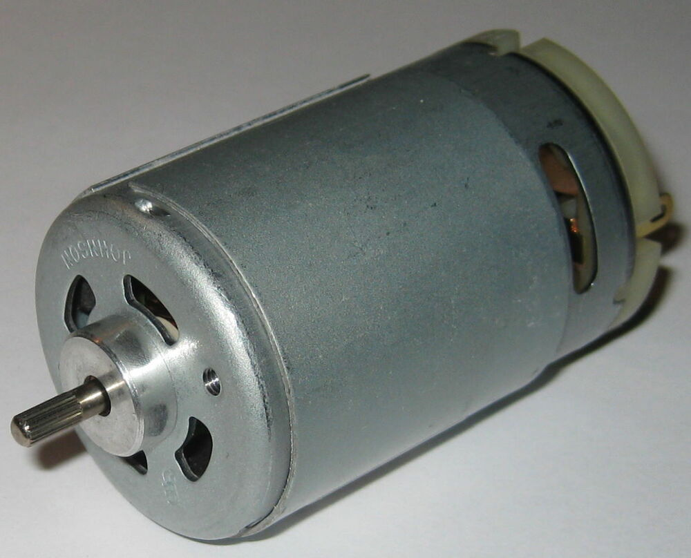 Johnson 555 size dc hobby motor 6 v 8500 rpm high for Johnson electric dc motors