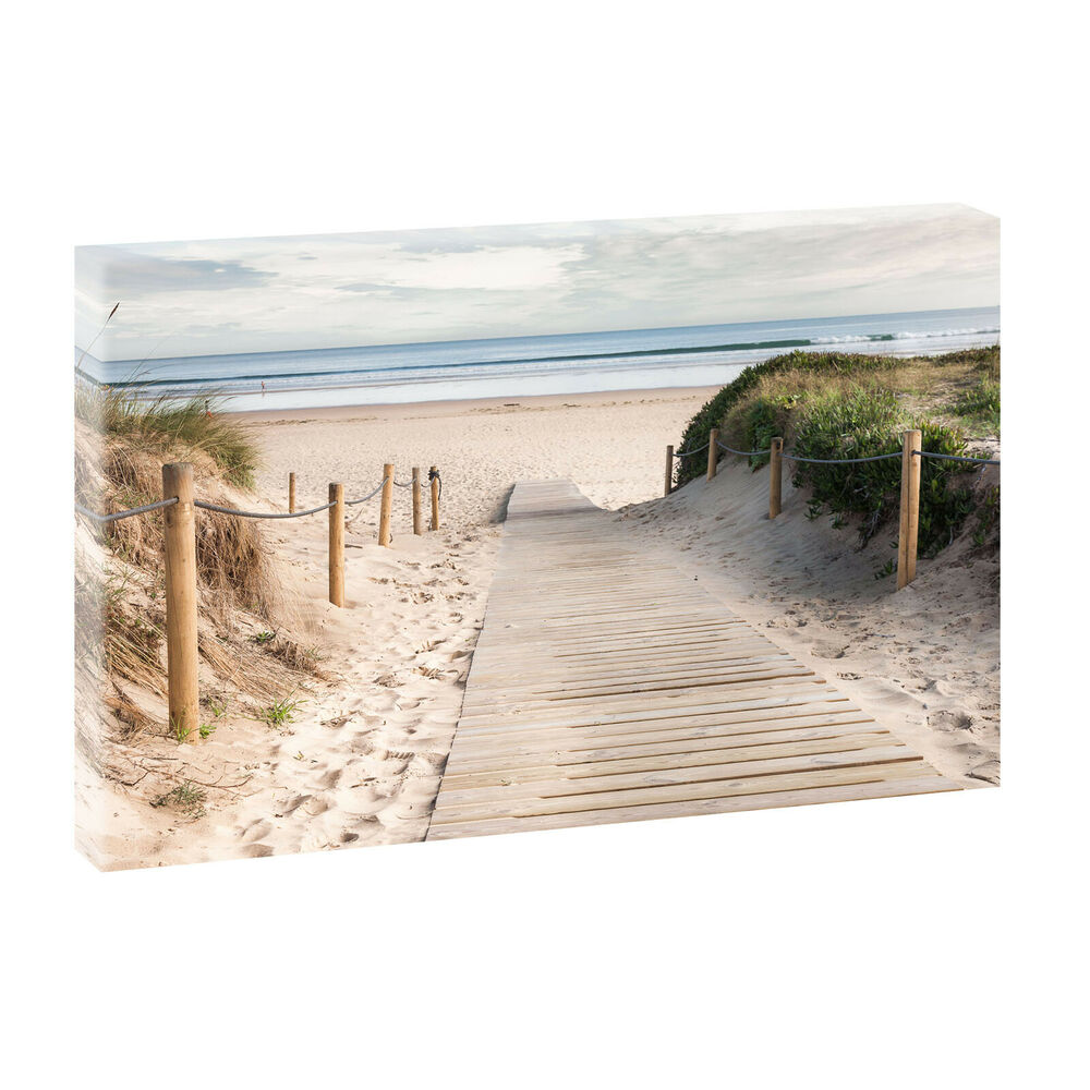strand 2 bild strand meer d nen nordsee leinwand poster xxl 120 cm 80 cm 623 ebay. Black Bedroom Furniture Sets. Home Design Ideas