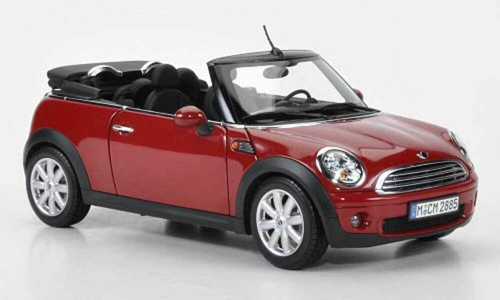 Kyosho Soft Top Convertible Red Mini Cooper 08605r Scale1 12 Rare Sealed Ebay