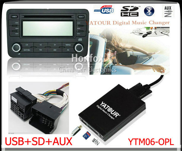 Yatour Digital CD Changer For Opel Vauxhall Holden 2006
