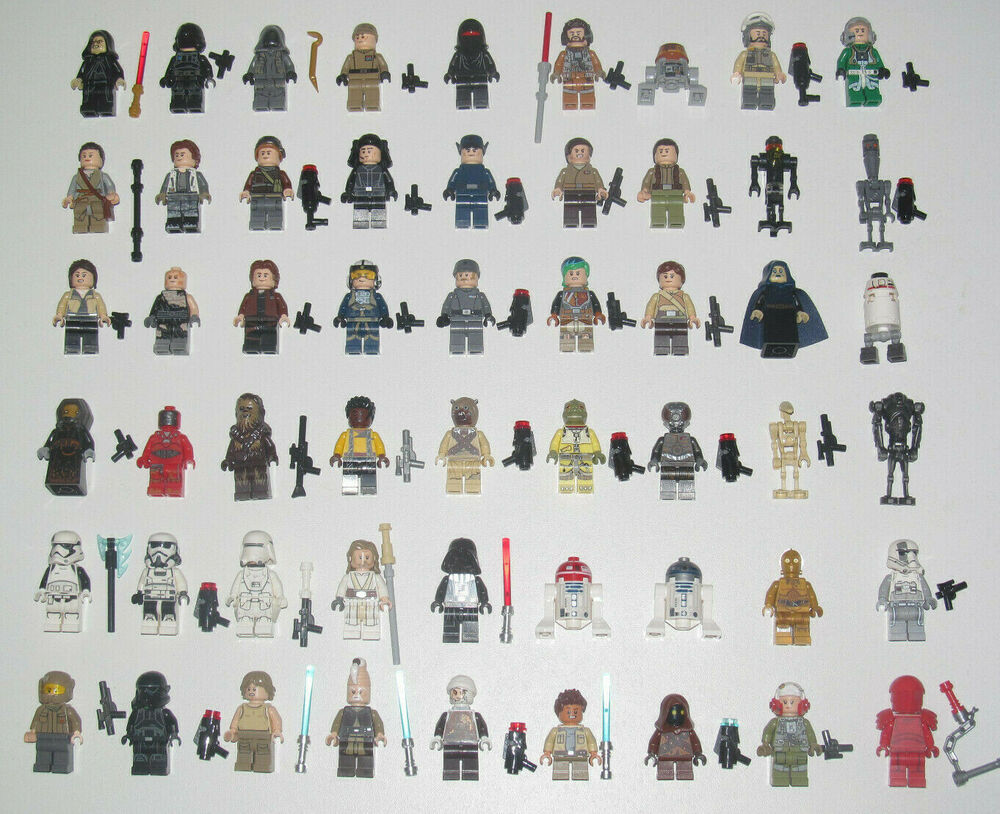 Lego star wars minifigure personnage choose original minifig new ebay - Lego star wars personnage ...