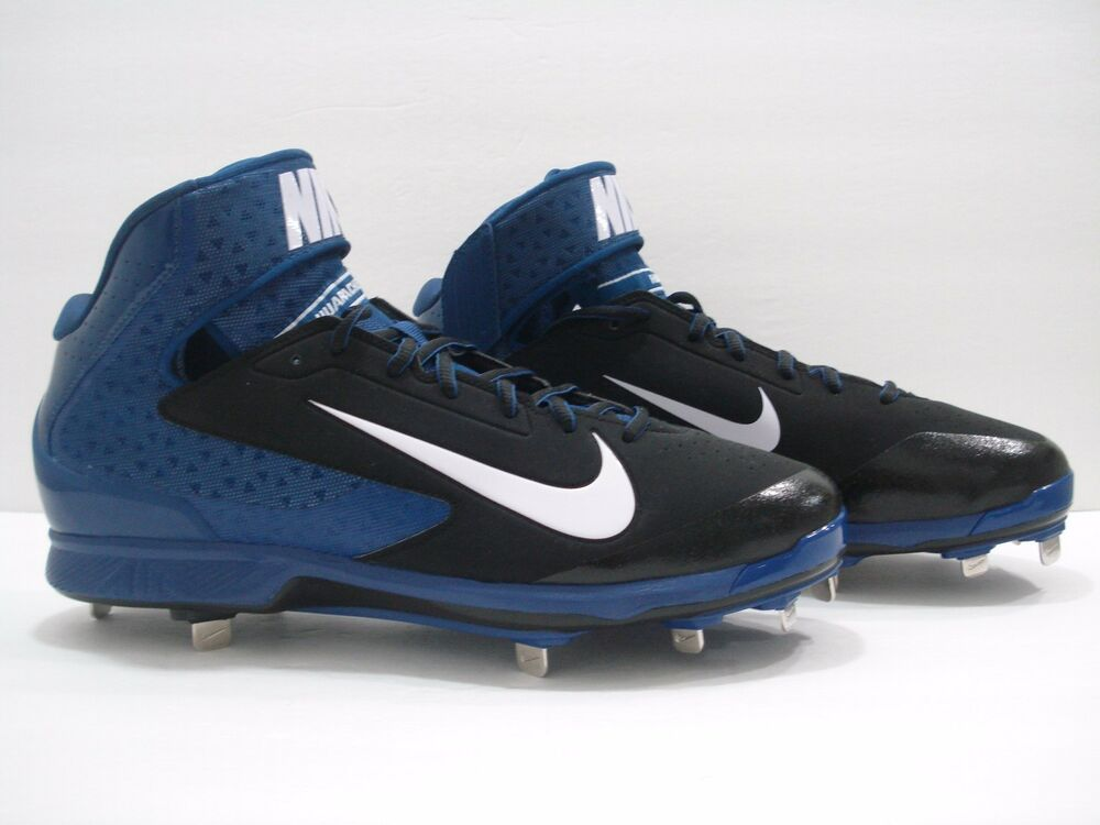 7e0a3f79be70 Details about Nike 599235-014 Air Huarache Pro 3 4 Mid Metal Baseball  Cleats Men s Size 16