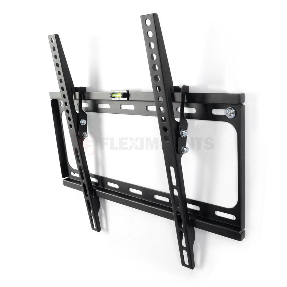 tilt tv wall mount bracket plasma flat screen 27 32 37 40 42 46 47 50 55 inch 691164917909 ebay. Black Bedroom Furniture Sets. Home Design Ideas