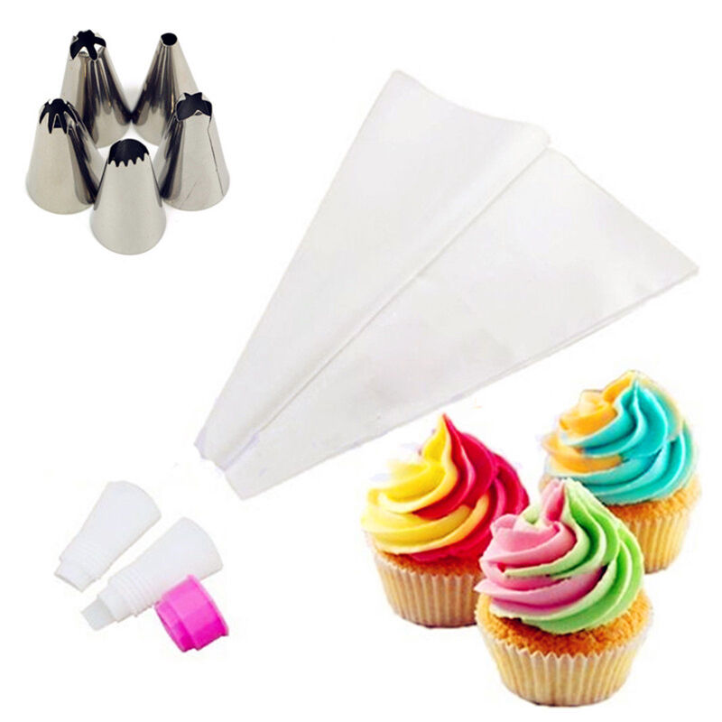 Kitchen Cake Decorating Tool Icing Piping Bag Nozzle