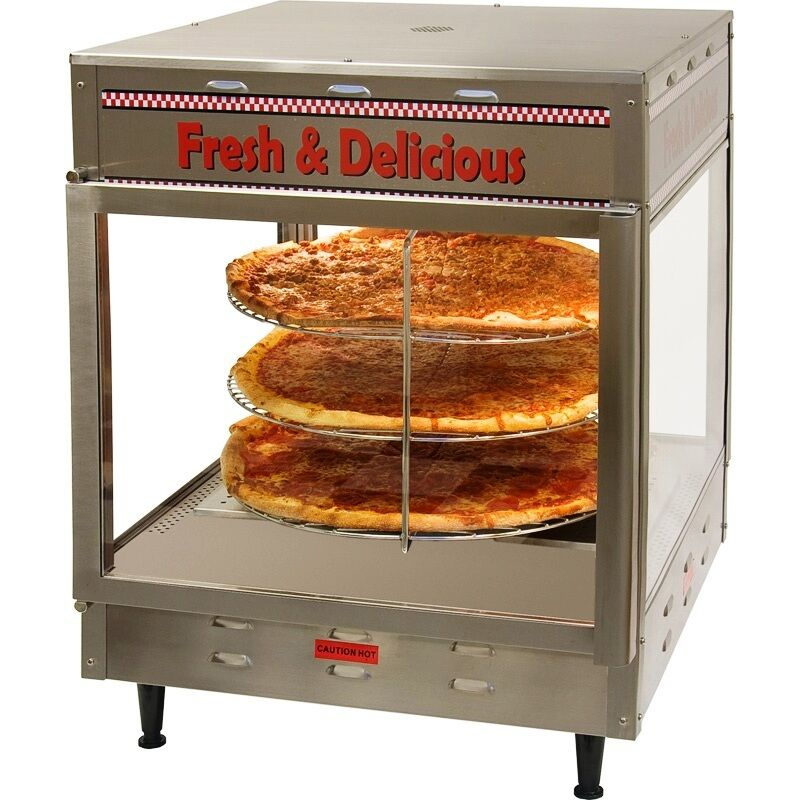 Countertop Food Warmers ~ Rotating quot pizza pie display case food warmer