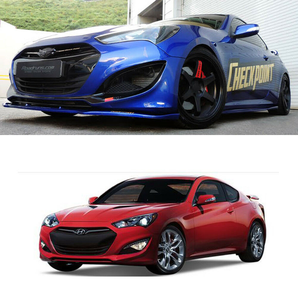 Front+Rear+Side Skirts Body Kit Unpainted For Hyundai NEW