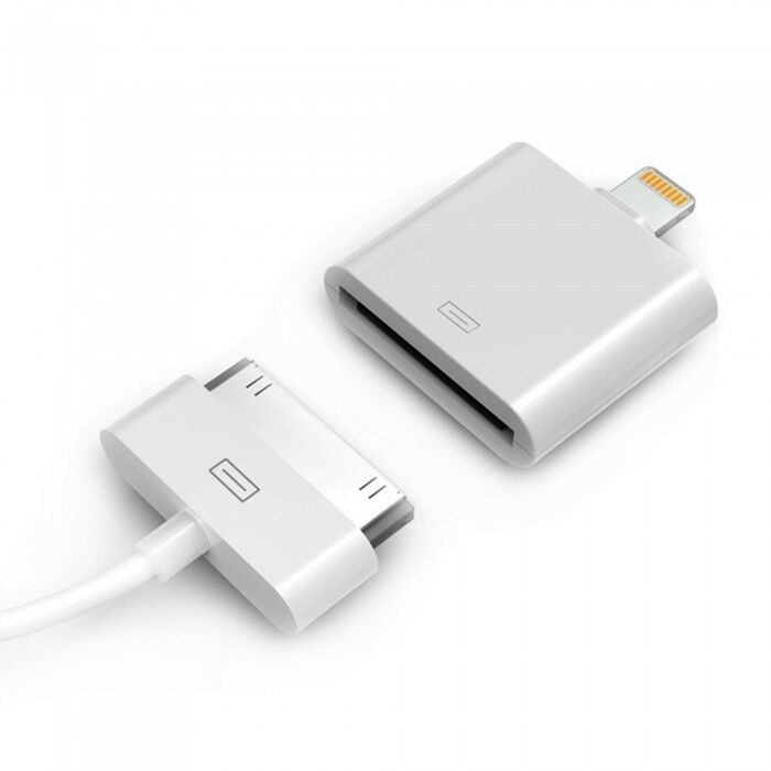 official apple lightning to 30 pin adapter for ipod iphone. Black Bedroom Furniture Sets. Home Design Ideas