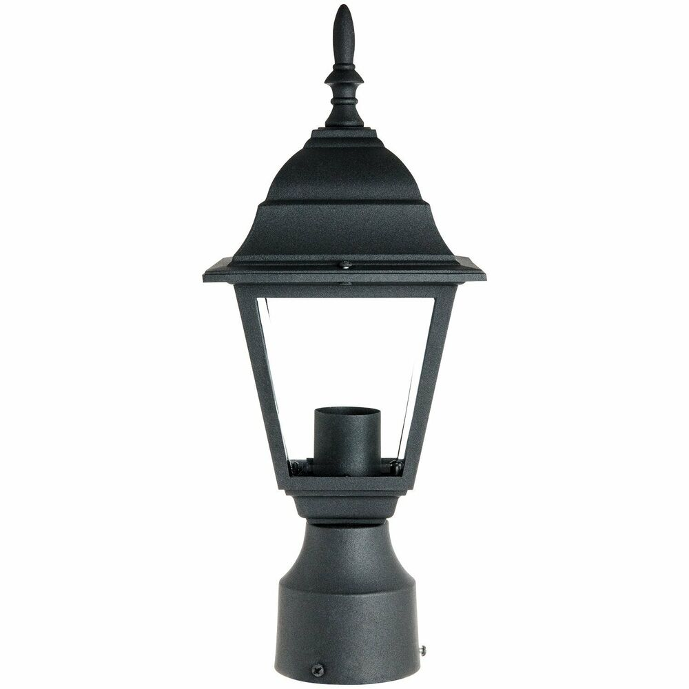 Outdoor Post Light Bulbs: Sunlite ODI1150 15Inch Decorative Light Post Outdoor