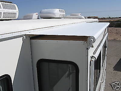 "RV CAMPER AWNING WHITE SLIDEOUT COVER ASSY FITS 82"" TO 87 ..."