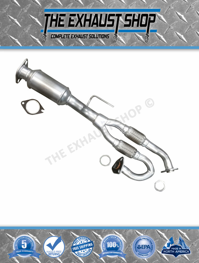 Direct Fit Front Flex Y Pipe W Catalytic For Fits 2002 2004 Nissan Altima 3 5l Ebay