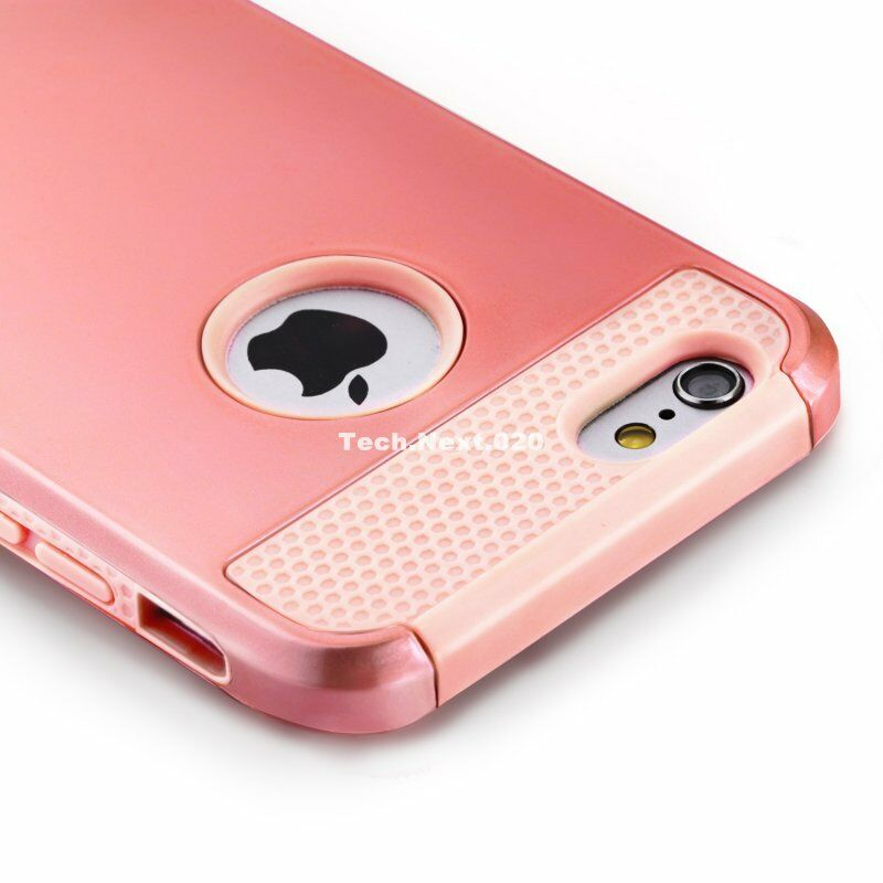 gold iphone case for gold iphone 6 shockproof rugged bumper heavy 4836