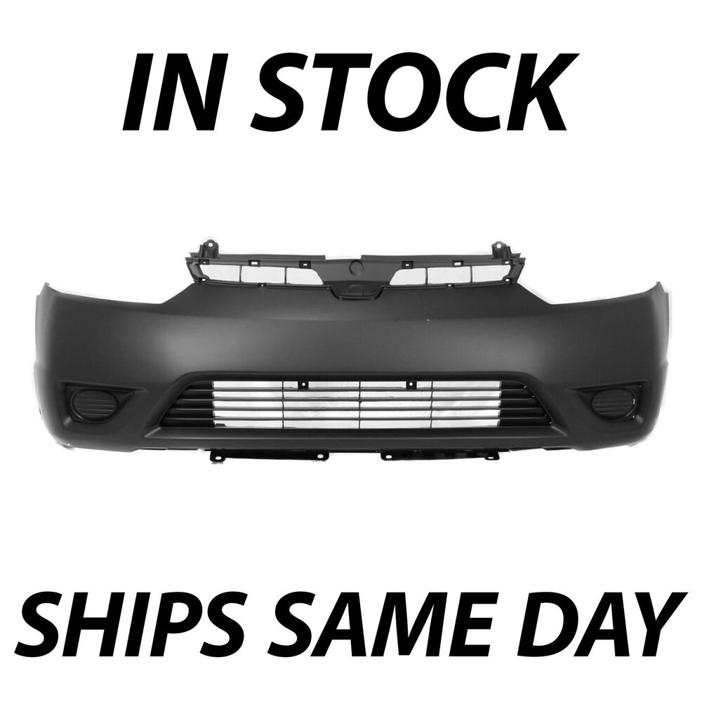 New Primered Front Bumper Cover Fascia For 2006 2007 2008 Honda Civic Coupe Ebay