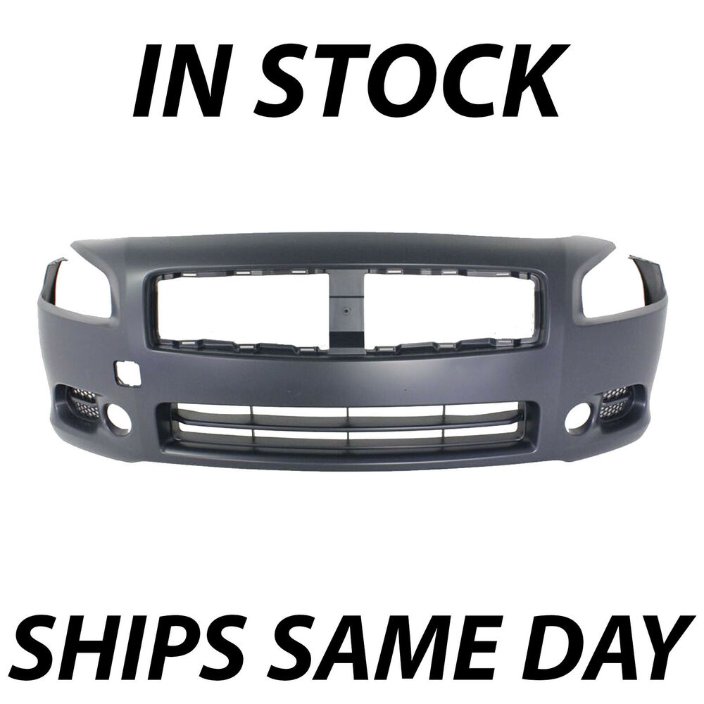 2009 Nissan Maxima Exterior: Front Bumper Cover Fascia Replacement For 2009