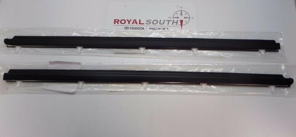 Toyota Tundra Regular Cab Door Belt Moulding 2pc Set