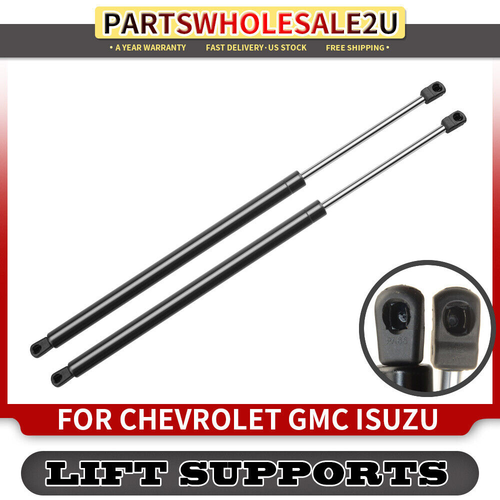 2x tailgate hatch lift supports for chevrolet trailblazer