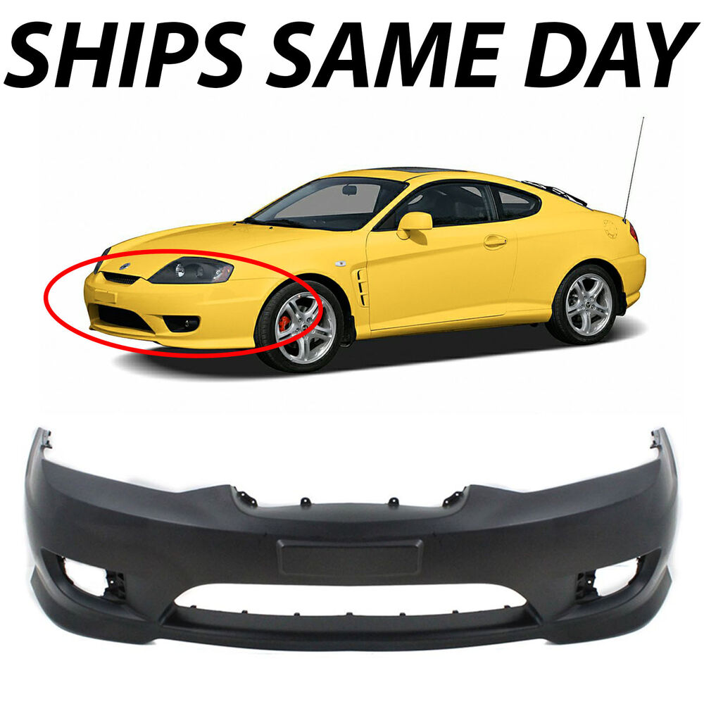 new primered front bumper cover for 2005 2006 hyundai. Black Bedroom Furniture Sets. Home Design Ideas