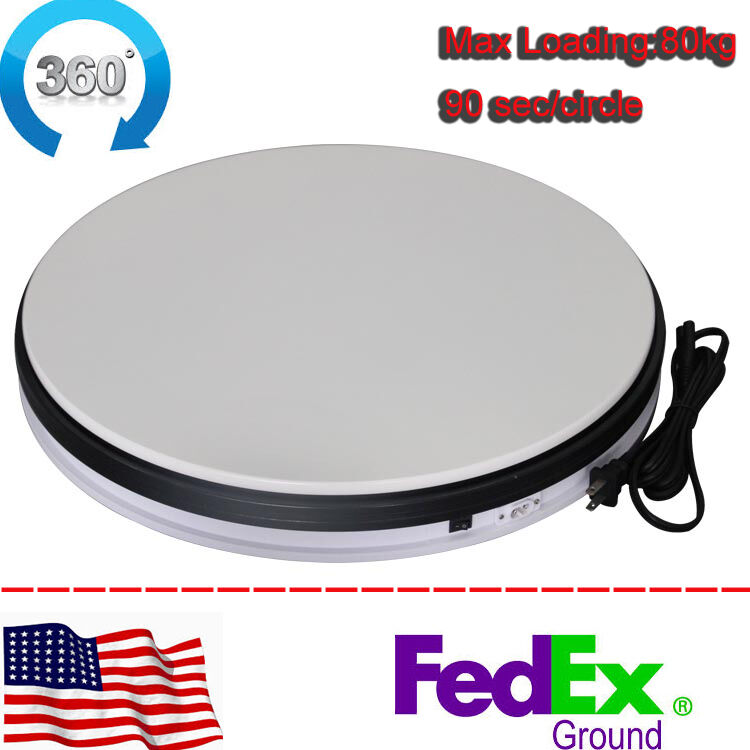 50kg 35cm heavy duty rotary rotating display stand for Motorized turntable heavy duty