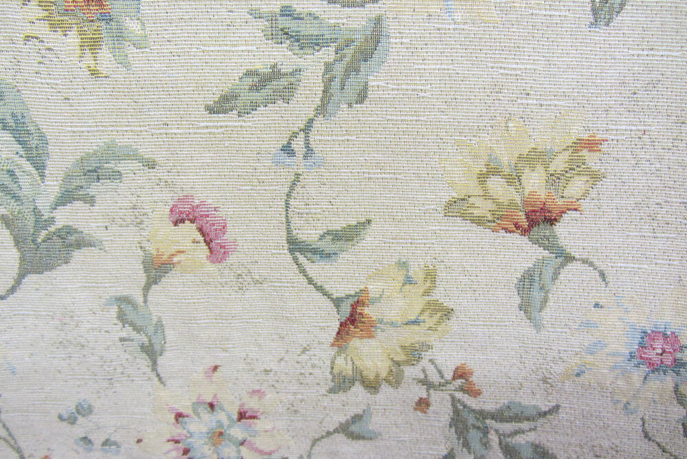 Vintage Floral Tapestry Curtain/Craft/upholstery Fabric