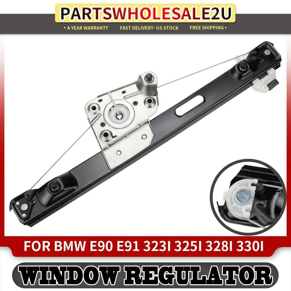 Rear right power window regulator w o motor for bmw e90 for Right window