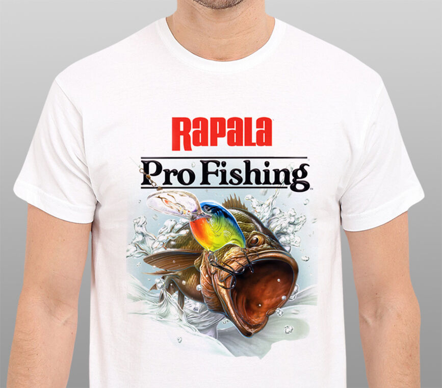 Rapala Pro Fishing Men 39 S T Shirt Size S M L Xl Xxl Ebay