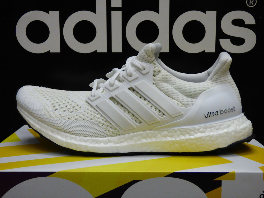 huge selection of 022c1 65ed9 NEW ADIDAS Ultra Boost Men's Running Shoes Kanye West - White/White; S77416  | eBay