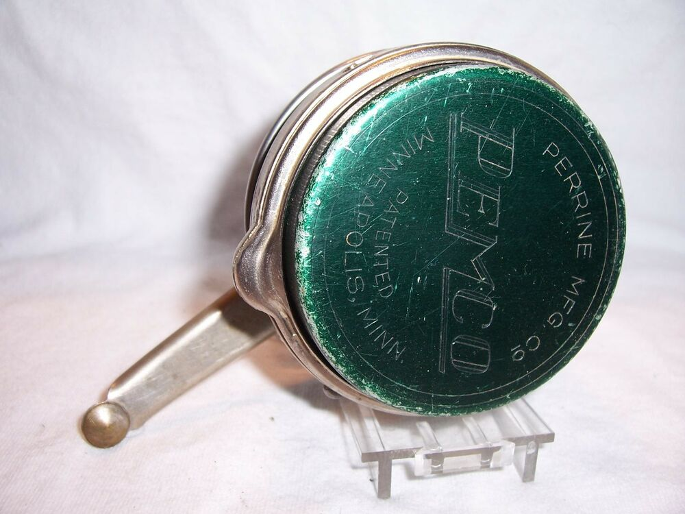 Vintage perrine pemco no 55 automatic fly fishing reel ebay for Fly fishing reels ebay