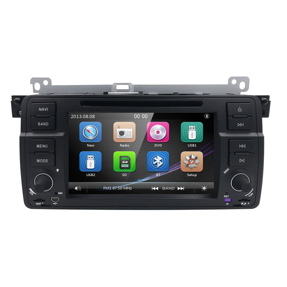 for bmw e46 318 320 325 car dvd player gps navigation. Black Bedroom Furniture Sets. Home Design Ideas